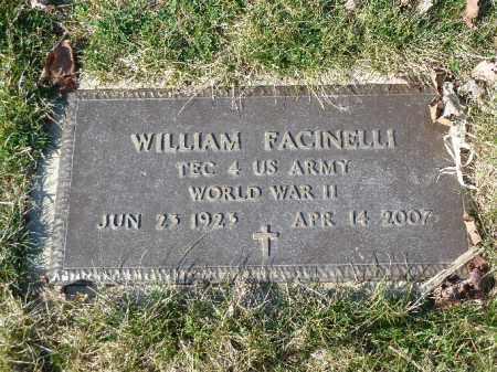 FACINELLI, WILLIAM - Luzerne County, Pennsylvania | WILLIAM FACINELLI - Pennsylvania Gravestone Photos