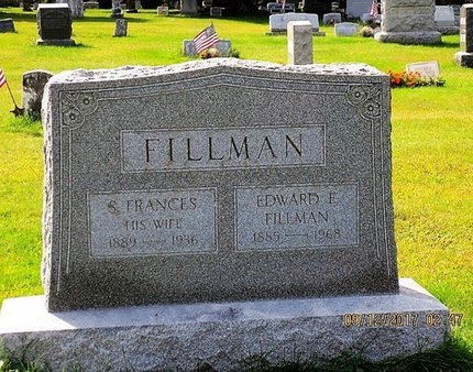 FILLMAN, EDWARD F - Luzerne County, Pennsylvania | EDWARD F FILLMAN - Pennsylvania Gravestone Photos