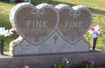 FINK, ALFRED BURTON SR. - Luzerne County, Pennsylvania | ALFRED BURTON SR. FINK - Pennsylvania Gravestone Photos