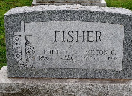 FISHER, EDITH E - Luzerne County, Pennsylvania | EDITH E FISHER - Pennsylvania Gravestone Photos