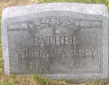 FREY, WILLIAM A. - Luzerne County, Pennsylvania | WILLIAM A. FREY - Pennsylvania Gravestone Photos