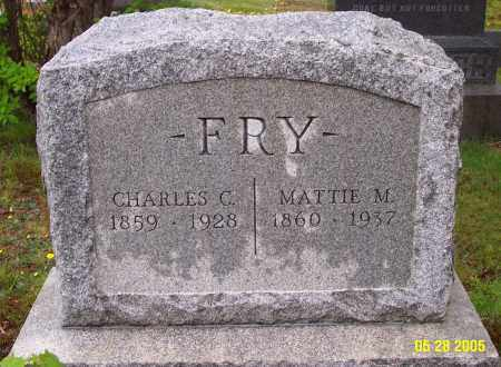 FRY, CHARLES C. - Luzerne County, Pennsylvania | CHARLES C. FRY - Pennsylvania Gravestone Photos