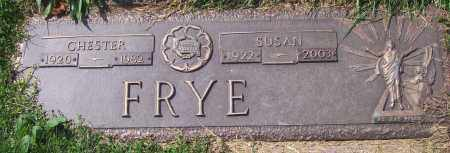 FRYE, CHESTER R. - Luzerne County, Pennsylvania | CHESTER R. FRYE - Pennsylvania Gravestone Photos
