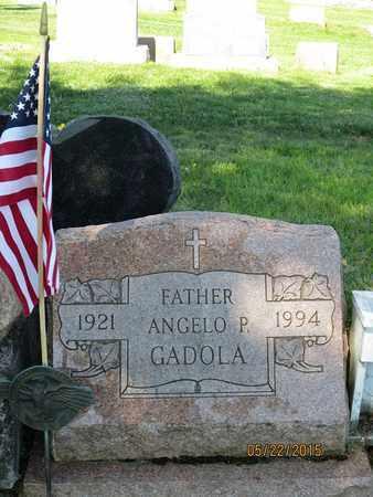 GADOLA, ANGELO P. - Luzerne County, Pennsylvania   ANGELO P. GADOLA - Pennsylvania Gravestone Photos