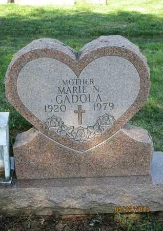 GADOLA, MARIE N. - Luzerne County, Pennsylvania | MARIE N. GADOLA - Pennsylvania Gravestone Photos