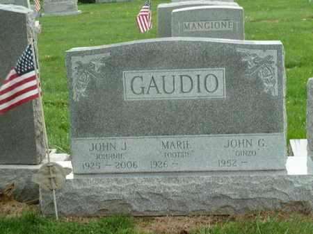 J GAUDIO, JOHN - Luzerne County, Pennsylvania | JOHN J GAUDIO - Pennsylvania Gravestone Photos