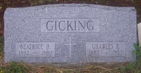 GICKING, CHARLES - Luzerne County, Pennsylvania | CHARLES GICKING - Pennsylvania Gravestone Photos