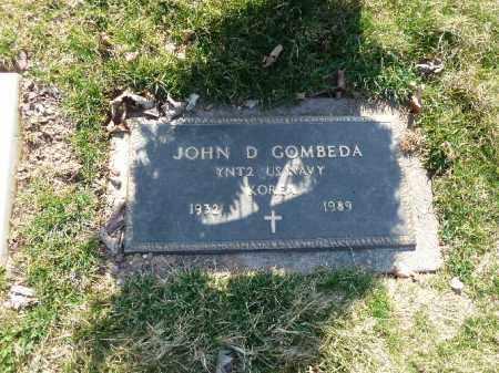 GOMBEDA (KOR), JOHN D. - Luzerne County, Pennsylvania | JOHN D. GOMBEDA (KOR) - Pennsylvania Gravestone Photos