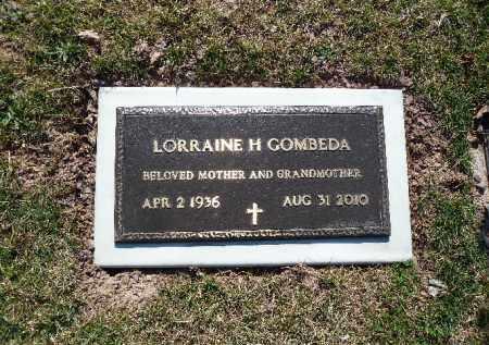 GOMBEDA, LORRAINE H.. - Luzerne County, Pennsylvania | LORRAINE H.. GOMBEDA - Pennsylvania Gravestone Photos