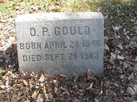GOULD, O.P. - Luzerne County, Pennsylvania | O.P. GOULD - Pennsylvania Gravestone Photos
