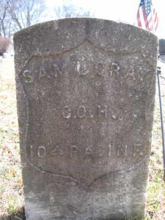 GRAY (CW), SAMUEL - Luzerne County, Pennsylvania | SAMUEL GRAY (CW) - Pennsylvania Gravestone Photos