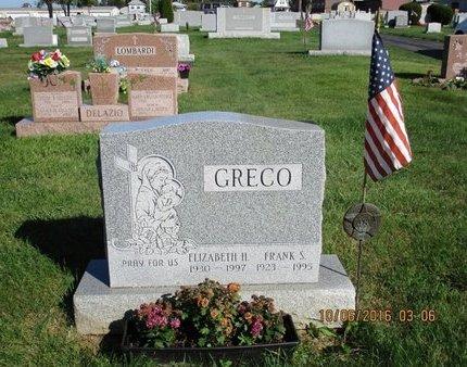 GRECO, FRANK S - Luzerne County, Pennsylvania | FRANK S GRECO - Pennsylvania Gravestone Photos