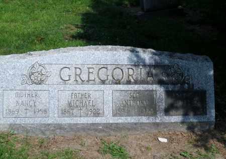 GREGORIA, ANTHONY - Luzerne County, Pennsylvania | ANTHONY GREGORIA - Pennsylvania Gravestone Photos