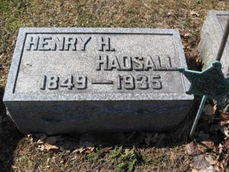 HADSALL, HENRY H. - Luzerne County, Pennsylvania | HENRY H. HADSALL - Pennsylvania Gravestone Photos