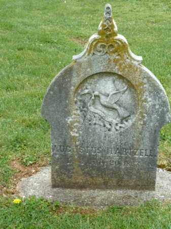 HARTZELL, AUGUSTUS - Luzerne County, Pennsylvania | AUGUSTUS HARTZELL - Pennsylvania Gravestone Photos