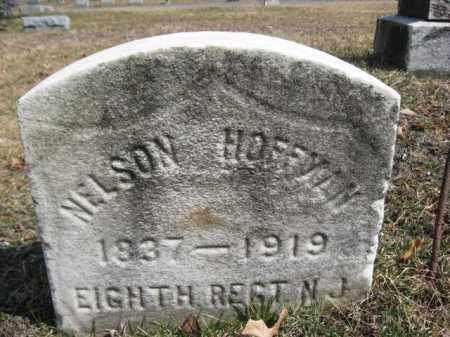 HOFFMAN (CW), NELSON - Luzerne County, Pennsylvania | NELSON HOFFMAN (CW) - Pennsylvania Gravestone Photos