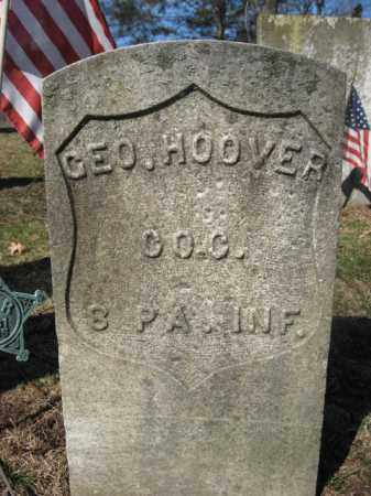 HOOVER  (CW), GEORGE - Luzerne County, Pennsylvania | GEORGE HOOVER  (CW) - Pennsylvania Gravestone Photos