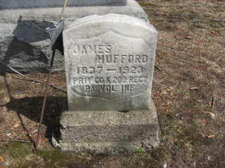 HUFFORD  (CW), JAMES - Luzerne County, Pennsylvania | JAMES HUFFORD  (CW) - Pennsylvania Gravestone Photos