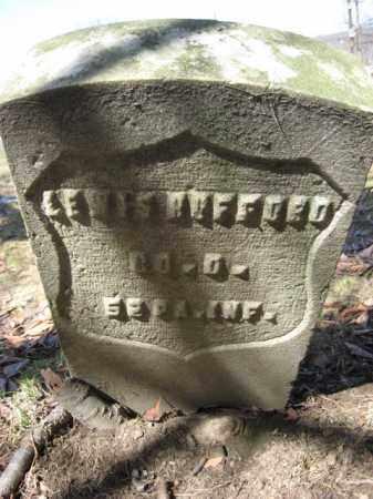 HUFFORD (HUFFARD) (CW), LEWIS - Luzerne County, Pennsylvania | LEWIS HUFFORD (HUFFARD) (CW) - Pennsylvania Gravestone Photos
