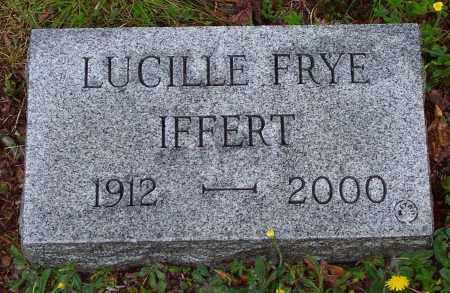 FRYE IFFERT, LUCILLE - Luzerne County, Pennsylvania | LUCILLE FRYE IFFERT - Pennsylvania Gravestone Photos