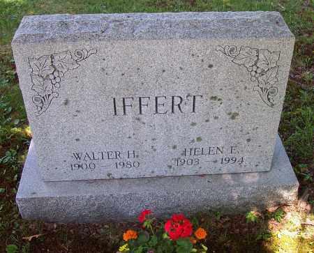 IFFERT, HELEN E. - Luzerne County, Pennsylvania   HELEN E. IFFERT - Pennsylvania Gravestone Photos