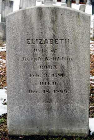 KEITHLINE, ELIZABETH - Luzerne County, Pennsylvania | ELIZABETH KEITHLINE - Pennsylvania Gravestone Photos