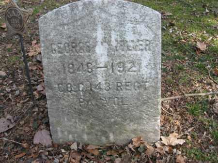 KELLER (CW), GEORGE W. - Luzerne County, Pennsylvania | GEORGE W. KELLER (CW) - Pennsylvania Gravestone Photos