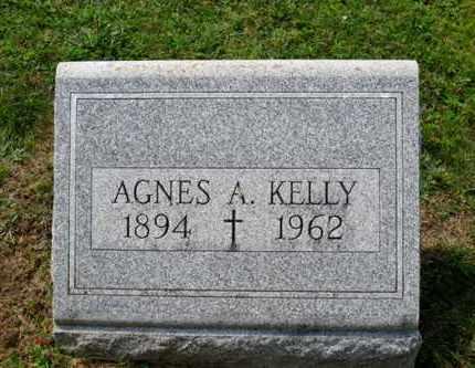 KELLY, AGNES A. - Luzerne County, Pennsylvania | AGNES A. KELLY - Pennsylvania Gravestone Photos