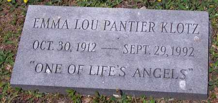 KLOTZ, EMMA LOU - Luzerne County, Pennsylvania | EMMA LOU KLOTZ - Pennsylvania Gravestone Photos