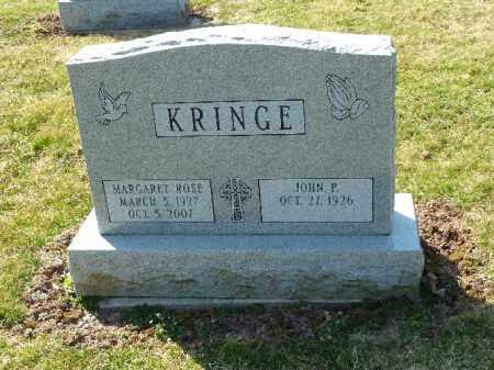 KRINGE, MARGARET ROSE - Luzerne County, Pennsylvania | MARGARET ROSE KRINGE - Pennsylvania Gravestone Photos