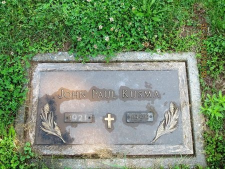 KUSMA, JOHN PAUL - Luzerne County, Pennsylvania   JOHN PAUL KUSMA - Pennsylvania Gravestone Photos