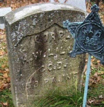 LILLY (CW), HARRISON W. - Luzerne County, Pennsylvania | HARRISON W. LILLY (CW) - Pennsylvania Gravestone Photos
