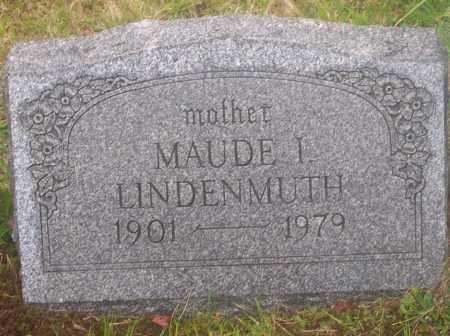 LINDENMUTH, MAUDE I. - Luzerne County, Pennsylvania | MAUDE I. LINDENMUTH - Pennsylvania Gravestone Photos