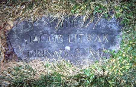 LITWAK, JACOB - Luzerne County, Pennsylvania | JACOB LITWAK - Pennsylvania Gravestone Photos