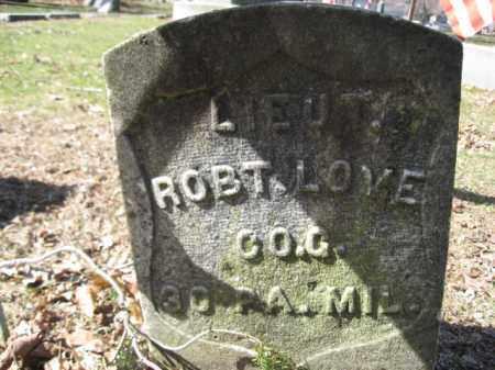 LOVE  (CW), ROBERT - Luzerne County, Pennsylvania | ROBERT LOVE  (CW) - Pennsylvania Gravestone Photos