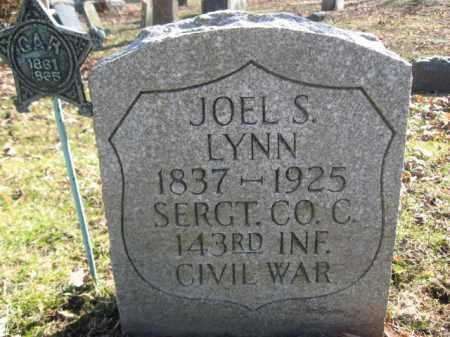 LYNN (CW), JOEL S. - Luzerne County, Pennsylvania | JOEL S. LYNN (CW) - Pennsylvania Gravestone Photos