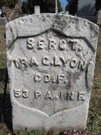 LYONS (CW), SERGT.IRA G. - Luzerne County, Pennsylvania   SERGT.IRA G. LYONS (CW) - Pennsylvania Gravestone Photos
