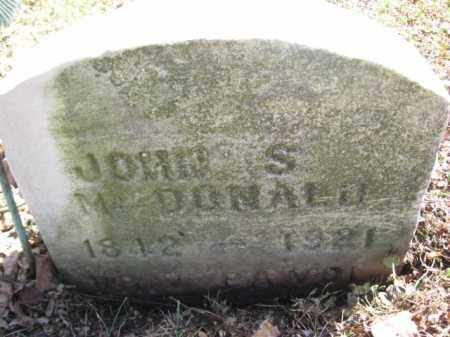 MACDONALD, JOHN S. - Luzerne County, Pennsylvania   JOHN S. MACDONALD - Pennsylvania Gravestone Photos