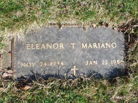 MARINO, ELEANOR T. - Luzerne County, Pennsylvania | ELEANOR T. MARINO - Pennsylvania Gravestone Photos