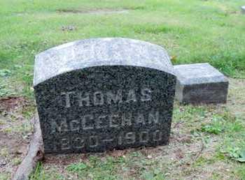 MCGEEHAN, THOMAS - Luzerne County, Pennsylvania | THOMAS MCGEEHAN - Pennsylvania Gravestone Photos