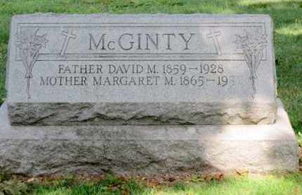 MCGINTY, DAVID M - Luzerne County, Pennsylvania | DAVID M MCGINTY - Pennsylvania Gravestone Photos
