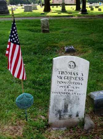 MCGUINESS, THOMAS - Luzerne County, Pennsylvania | THOMAS MCGUINESS - Pennsylvania Gravestone Photos