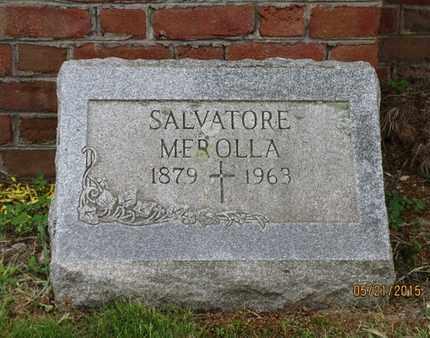 MEROLLA, SALVATORE - Luzerne County, Pennsylvania   SALVATORE MEROLLA - Pennsylvania Gravestone Photos
