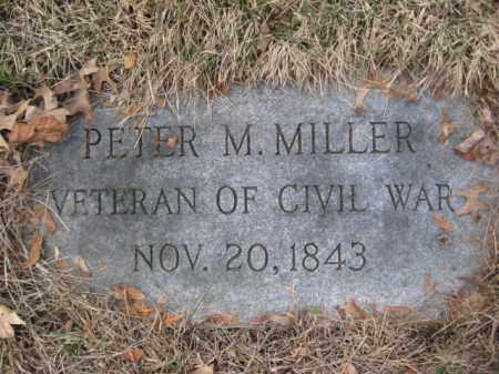 MILLER (CW), PETER M. - Luzerne County, Pennsylvania | PETER M. MILLER (CW) - Pennsylvania Gravestone Photos