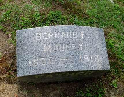MOONEY, BERNARD F. - Luzerne County, Pennsylvania | BERNARD F. MOONEY - Pennsylvania Gravestone Photos