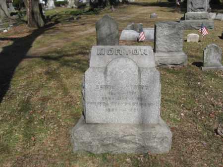 MORTON (CW), SAMUEL A. - Luzerne County, Pennsylvania | SAMUEL A. MORTON (CW) - Pennsylvania Gravestone Photos