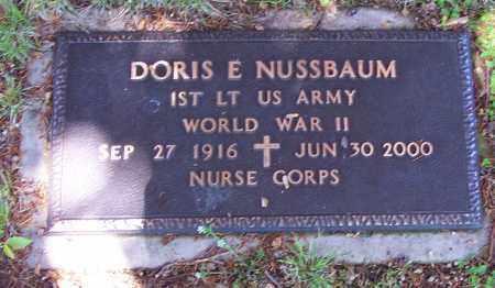 NUSSBAUM (WW II), 1ST LIEUT.DORIS E. - Luzerne County, Pennsylvania | 1ST LIEUT.DORIS E. NUSSBAUM (WW II) - Pennsylvania Gravestone Photos