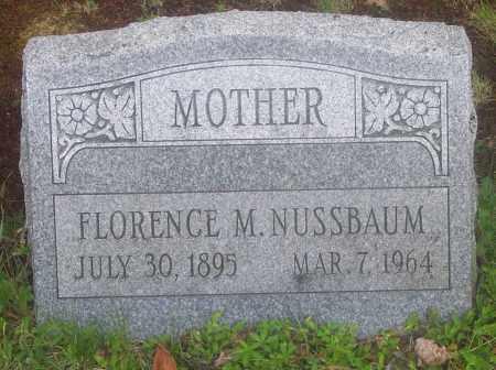 NUSSBAUM, FLORENCE M. - Luzerne County, Pennsylvania | FLORENCE M. NUSSBAUM - Pennsylvania Gravestone Photos