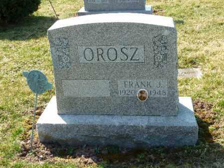 OROSZ, FRANK J - Luzerne County, Pennsylvania | FRANK J OROSZ - Pennsylvania Gravestone Photos