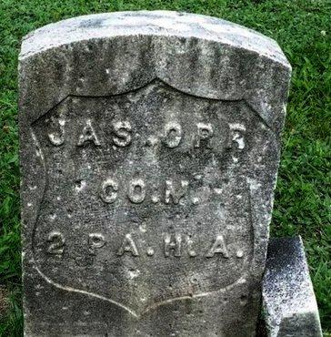 ORR (CW), JAMES - Luzerne County, Pennsylvania | JAMES ORR (CW) - Pennsylvania Gravestone Photos
